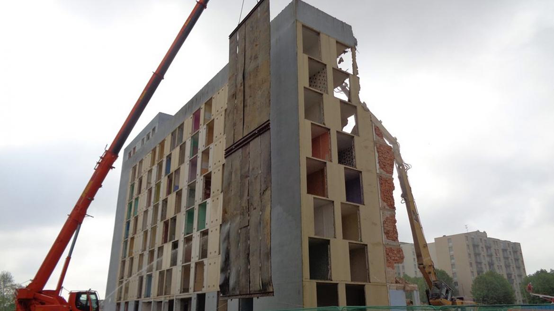 Quartier du Hamois à Vitry le François : Bâtiments R+4 à R+11